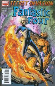 Secret Invasion Fantastic Four Comics